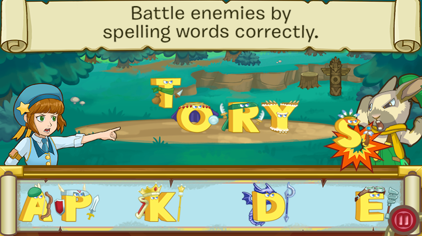 Letter Battle Screenshot 1