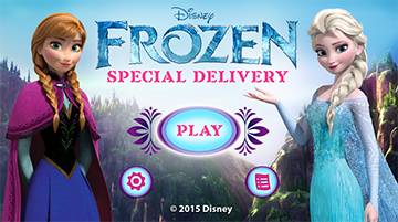 Disney Frozen: Special Delivery Learning Game