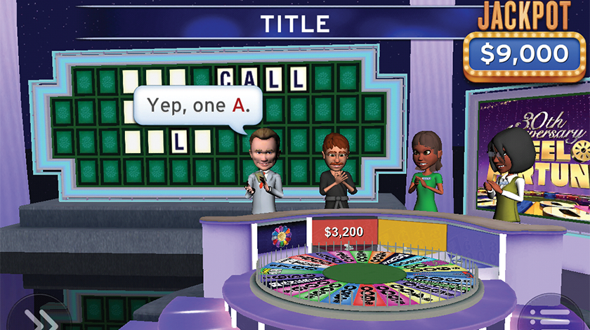 Wheel of Fortune Screenshot 1