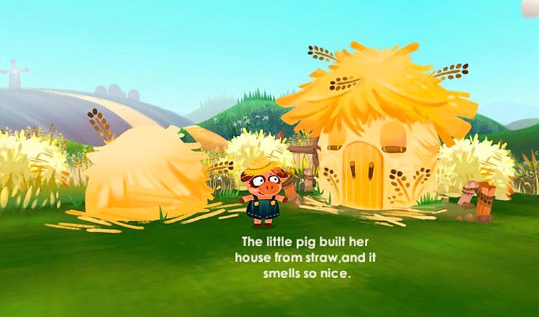 The Three Little Pigs on Gear VR